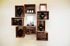 Diy Wood Crate Shelves Projects Craft Ideas How Tos For Pertaining To Wooden