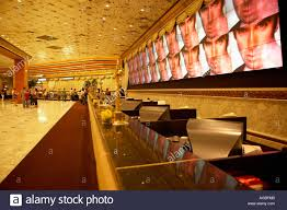 Front desk at the MGM Grand Hotel in Las Vegas Nevada Stock