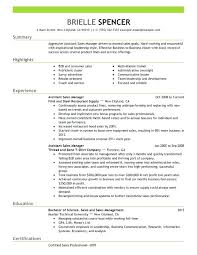 Sample Resume For Territory Manager Packed With Regional Sales