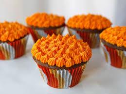 Halloween Devils Food Cupcakes