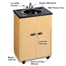 Ozark River Portable Hand Sink by Ozark River Self Contained Sink Abs Top Basin Water Single