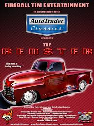 100 Autotrader Classic Truck Fireball Tim Lawrence AUTOTRADER CLASSICS REDSTER