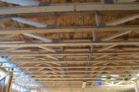 Distance Between Floor Joists by Installing Floor Trusses And Trusses Vs Joists Newlywoodwards