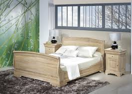 chambre louis philippe merisier massif lit hugo 160x200 en chêne massif de style louis philippe finition