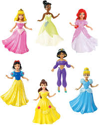 Marshmallow Flip Open Sofa Disney Princess by Disney Princess Collection 7 Doll Gift Set Free Shipping Bitty