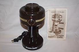 1 Of 6 Vintage Pronto Caffe From Continental Gourmet Espresso Cappuccino Machine EM