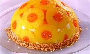 ananas kuppel torte