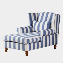 maison belfort ohrensessel colmar blau weiß webstoff 94x95x134