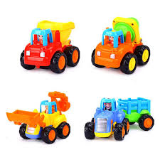 100 Types Of Construction Trucks Amazoncom GBDONE Friction Powered Cars Push And Go Toy
