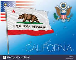 California Federal State Flag United States