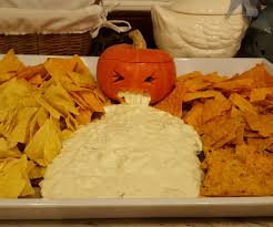 Puking Pumpkin Guacamole Recipe by Vomiting Pumpkin Or How To Serve Nachos At Helloween 5 Steps