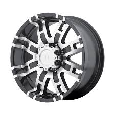 100 Helo Truck Wheels HE835 Machined MultiSpoke Discount