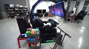The Ultimate Gaming Setup: PC, PS4 Pro, 3 Screens, Built-in Massager ... Review Nitro Concepts S300 Gaming Chair Gamecrate Thunder X3 Uc5 Hex Anda Seat Dark Wizard Gaming Chair We Got This Covered Clutch Chairz Throttle The Sports Car Of Supersized Best Office Of 2019 Creative Bloq Anthem Agony Crashing Ps4s Weak Weapons And A World Meh Amazoncom Raidmax Dk709 Drakon Ergonomic Racing Style Crazy Acer Predator Thronos Has Triple Monitor Setup A Closer Look At Acers The God Chairs Handson Noblechairs Epic Series Real Leather Vertagear Triigger 275