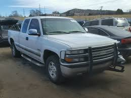 2GCEK19T2X1237817 | 1999 WHITE CHEVROLET SILVERADO On Sale In CO ...