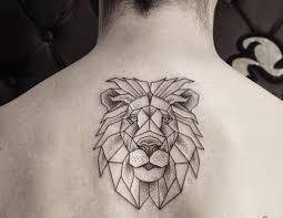 Tribal Ink Lion Tattoo On Half Sleeve