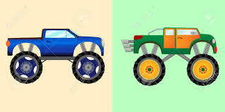Blue And Green Monster Trucks With A Big Wheels. Vector Illustration ... Race Meteor And Mighty Police Video Bigfoot Monster Truck Party Cartoon Tow Pictures Free Download Best Stock Illustrations 392 Blue Green Trucks With A Big Wheels Vector Illustration Compilation For Kids About Fire Personalized Iron On Transfers Grave Digger Art More Images Of Car Red 2 For Kids Youtube Learn 3d Shapes Stunts Cartoon Monster Truck Trucksbig Carl The Super And Hulk In City Cars Children Geckos Garage Toddler Fun Learning