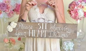 Rustic Wedding Sign No Seating Plan Morgann Hill Designs Item Number MHD20054