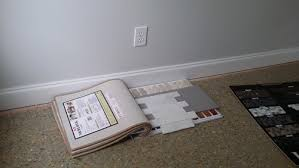 walls are wickam gray what floor color should go in for carpet