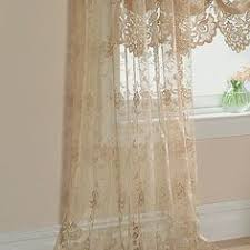 Jcpenney Sheer Curtain Rods by Home Shari Lace Rod Pocket Balloon Shade Rod Pocket Window And