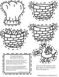 Dream Coloring Sheet Jail Page Joseph Pages Pdf Smith Bible Story Full Size