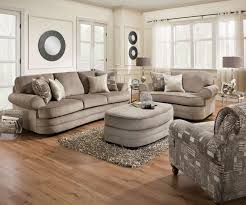 Claremore Sofa And Loveseat by Kingsley Pewter Sofa Chair 1 2 And Ottoman Set By Simmons
