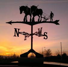 Weathervanes For Sheds Uk by Shire Horse And Plough Weathervane