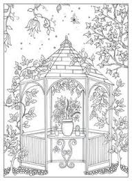Secret Garden By Johanna Basford Coloring Pages For AdultsAdult