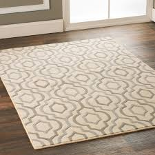 Standard Size Rug For Dining Room Table by Arabesque Diamonds Area Rug Room Size Rugs Plush Carpet And