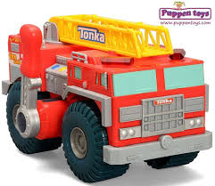 100 First Fire Truck My Strong Arm TONKA Juguetes Puppen Toys