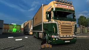 100 Tandem Trucking Gerbuvet Tandem Skin Pack 126 Modhubus