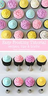 The BEST Cupcake Frosting Tutorial Great Recipes And Tips