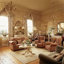 traditional living room decor and furniture style