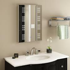 Details About New LED Illuminated Bathroom Mirror Clock 240V With Shaver Socket Sensor IP44