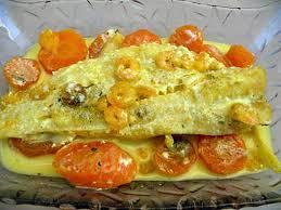 recette cuisine poisson recette de poisson blanc à la crème de crevettes et carottes
