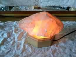 beleuchtung für salzsteine edelsteine