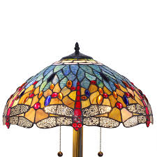 Overstock Tiffany Floor Lamps by 1908 Studios Dragonfly Floor Lamp Video Projector Lamps Amazon Com