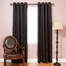 Burgundy Grommet Blackout Curtains by Navy Chandelier Punch Out Blackout Curtains Pair