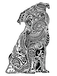 Full Image For Animal Coloring Pages Adults Pdf Free Printable
