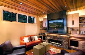 Rustic Living Room Design Ideas Placing The High Up Works In Large Rooms With Ample