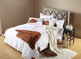 Twin Horse Bedding bulldog puppy dog themed girls bedding twin or queen duvet cover