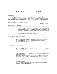 Cover Letter For Front Desk Officer by Special Effects Makeup Resume Job And Resume Template