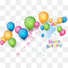 Happy Birthday Balloons PNG vector material Creative Birthday Birthday Balloons Happy Birthday PNG