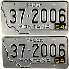 1964 Montana Truck License Plates | Brandywine General Store License Plate Oklahoma Zz Is A Showboat Of Sleeper 10 Second Ontario Quarterly Truck And Bus Plates Part M Flickr Mapa Plate License Plates The Portly Chronicles More Auto Blonde 2x Car Truck Dark Blue Frames Number A Rustic Christmas Tablescape Celebrate Decorate Do I Need Commercial Encharter Insurance Deck 1966 Texas Farm Brandywine General Store 1961 Virginia Lpr For Access Control
