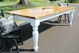 How To Build A DIY Farmhouse Dining Table