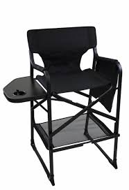 100 Folding Chairs With Arm Rests World Outdoor Products PROFESSIONAL EDITION Tall Directors Chair