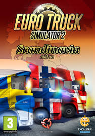 100 Euro Truck Simulator 2 Key Scandinavian Expansion CD