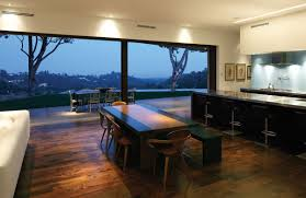 100 Griffin Enright Architects Dining Table Views Mandeville Canyon Residence In Los Angeles By