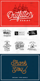 57 Best Vintage Retro And Rustic Style Fonts Images On Pinterest
