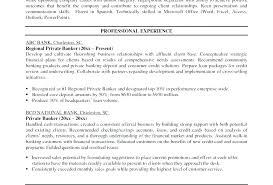 Personal Banker Sample Resume Examples Example Objective