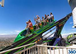 Stratosphere Observation Deck Hours by Las Vegas Roller Coaster Stratosphere Tower X Scream